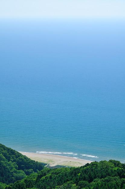 日本海鳥瞰