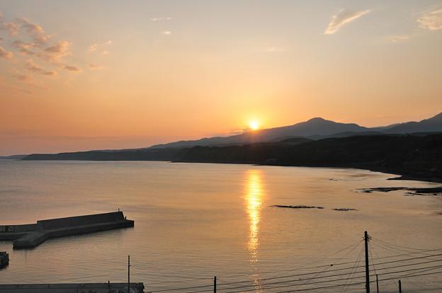 広戸漁港の日の出