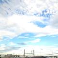 写真: 雲が切れてきた