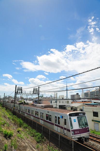 写真: 半蔵門線8000系電車