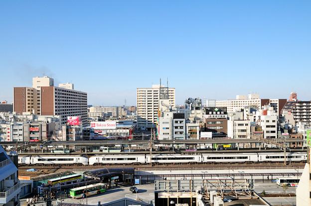 常磐線651系特急スーパーひたち