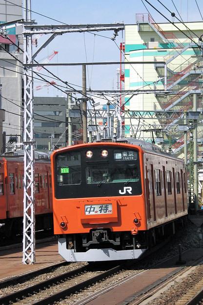 JR中央線201系電車