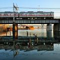 Photos: 鉄橋反射