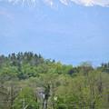 Photos: 八ヶ岳とE353系特急あずさ号