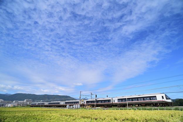 広がる秋雲