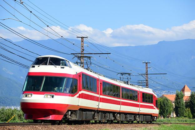 昔は箱根へ向かい、そして今は湯田中へ