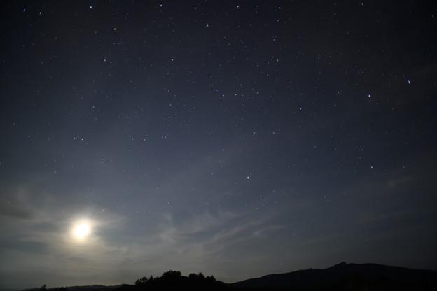 月夜の星座たち