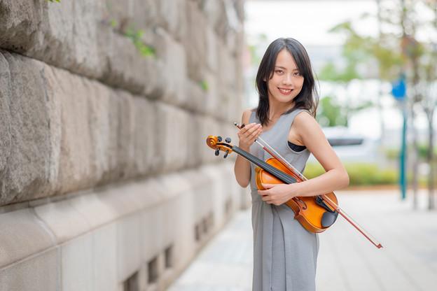 Photos: 「ヴァイオリン、始めました」