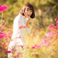 『秋桜の園にて』