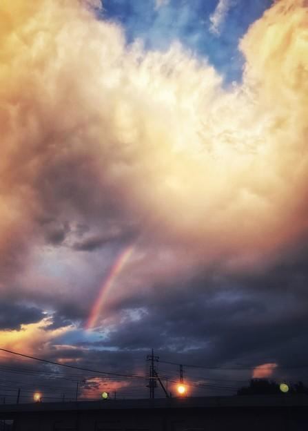 写真: 虹