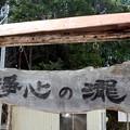 「浄心の瀧」表板