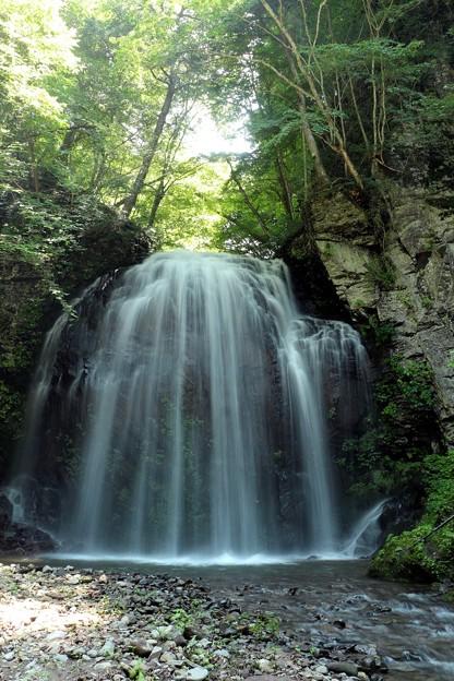 大茂沢川の支流にある滝