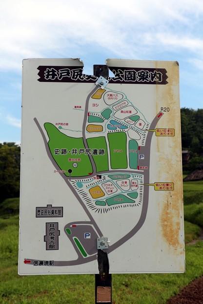 井戸尻史跡公園案内図