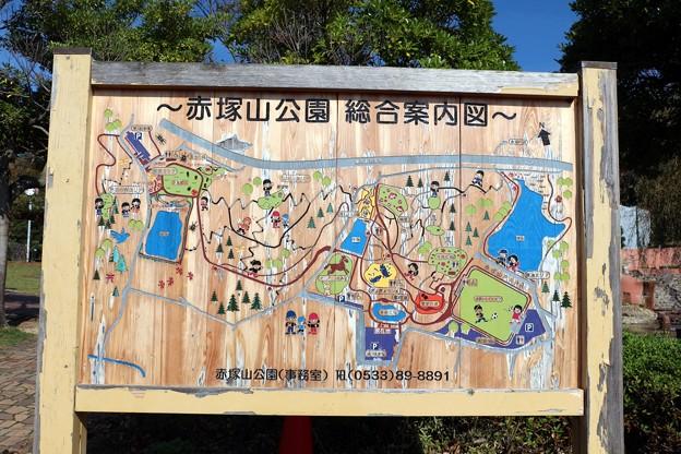 赤塚山公園総合案内図