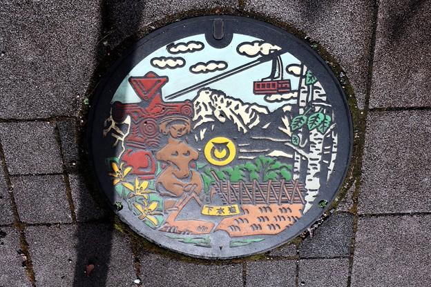 長野県茅野市カラーマンホール