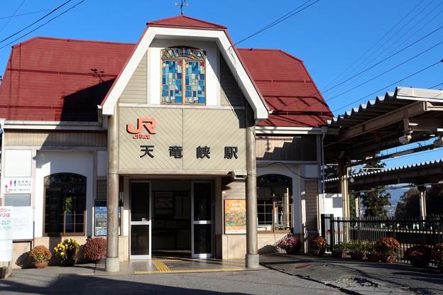 JR東海・飯田線「天竜峡駅」
