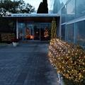 クリスタル温室入口