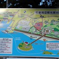 竹島周辺観光案内図