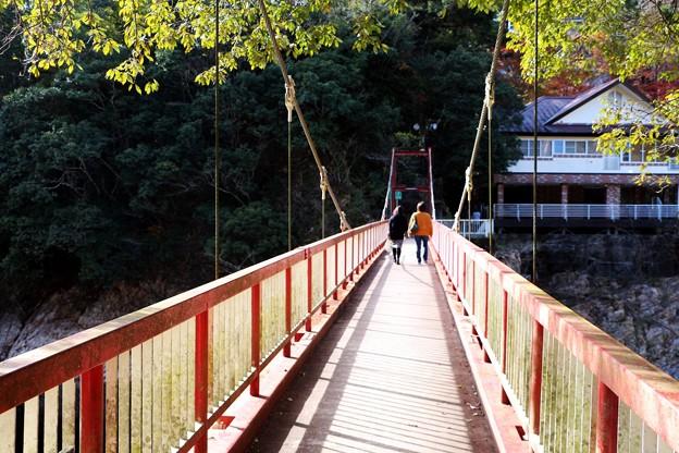 浮石橋(吊り橋)