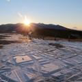 八ヶ岳から日の出