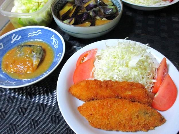 魚、魚、野菜