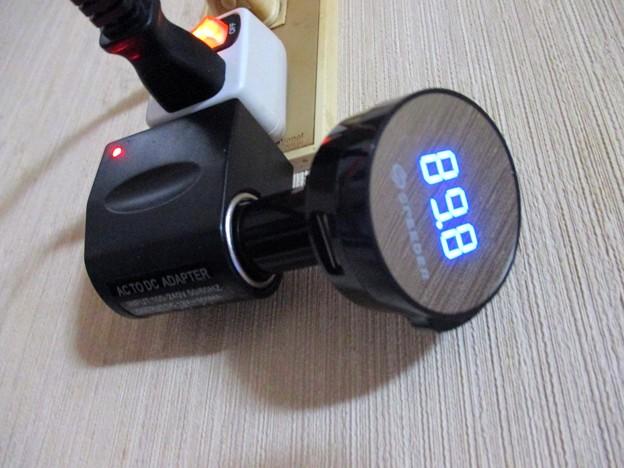 DC~AC変換アダプター&Bluetooth FMトランスミッター
