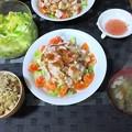 Photos: 豚しゃぶサラダ定食