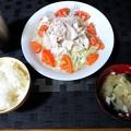 Photos: 豚の冷しゃぶサラダ定食