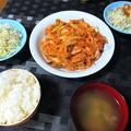 Photos: 豚キムチ定食