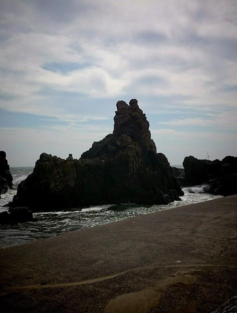 写真: ワンコ岩
