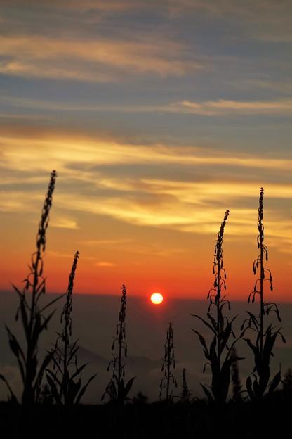遠き山に日は落ちて・・