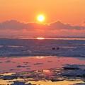 Photos: 氷海落日2