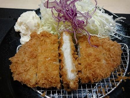 特朝ロースカツ定食
