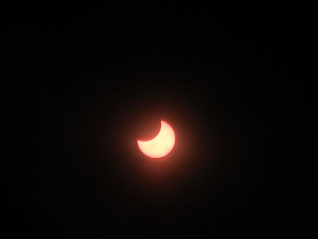 Photos: 部分日食1月6日
