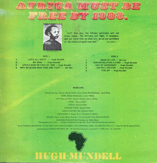 AFRICA MUST BE FREE BY 1983.-2