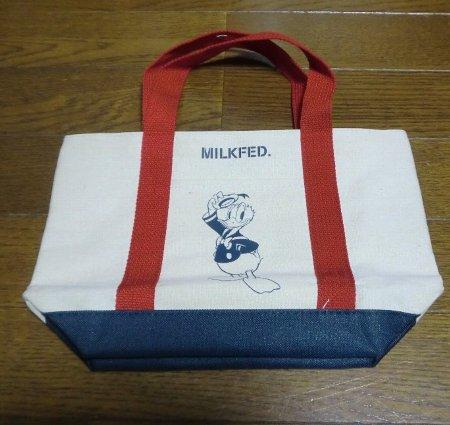 MILKFED.特製ポケット付きドナルドトート