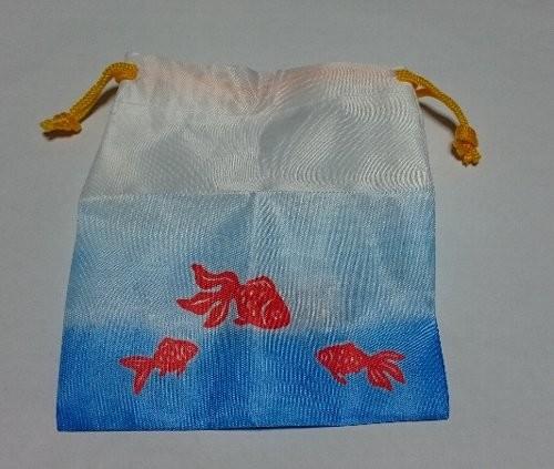 金魚すくい巾着とポイぽーち