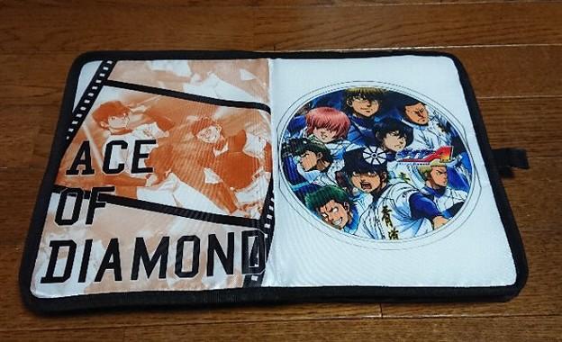 阪神タイガース×ダイヤのA オリジナルコラボ折りたたみクッション
