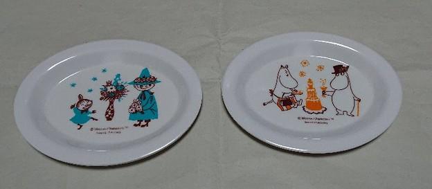 cookpad plus ムーミン メラミントレー&コースター 秋の豪華5点セット