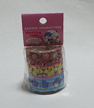 サンキューマート×サンリオキャラクターズコラボマスキングテープ3個セット