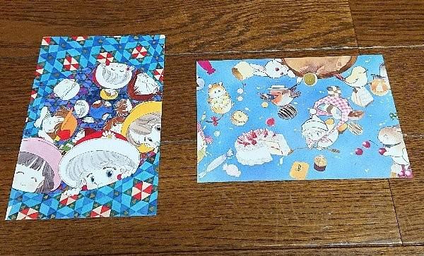 Photos: ベルメゾン×りぼん 全部違う柄!ポストカード18枚セット