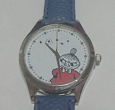 cookpad plus リトルミイの本格腕時計