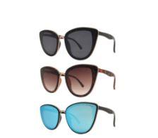 PL 8783 - Women's Polarized Lens Cat Eye Sunglasses