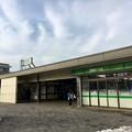 写真: 新小平駅