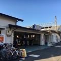 写真: 七里駅