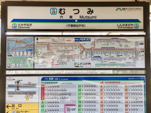 六実駅 Mutsumi Sta.