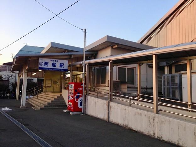 写真: 京成西船駅