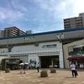 写真: 検見川浜駅