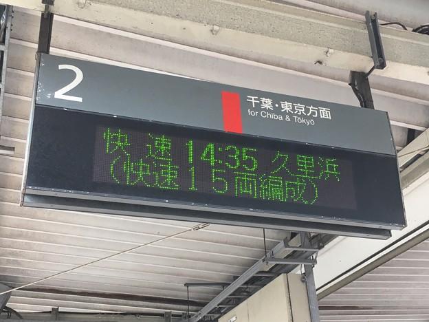 JR東日本 本千葉駅の発車標