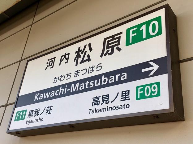 河内松原駅 Kawachi-Matsubara Sta.